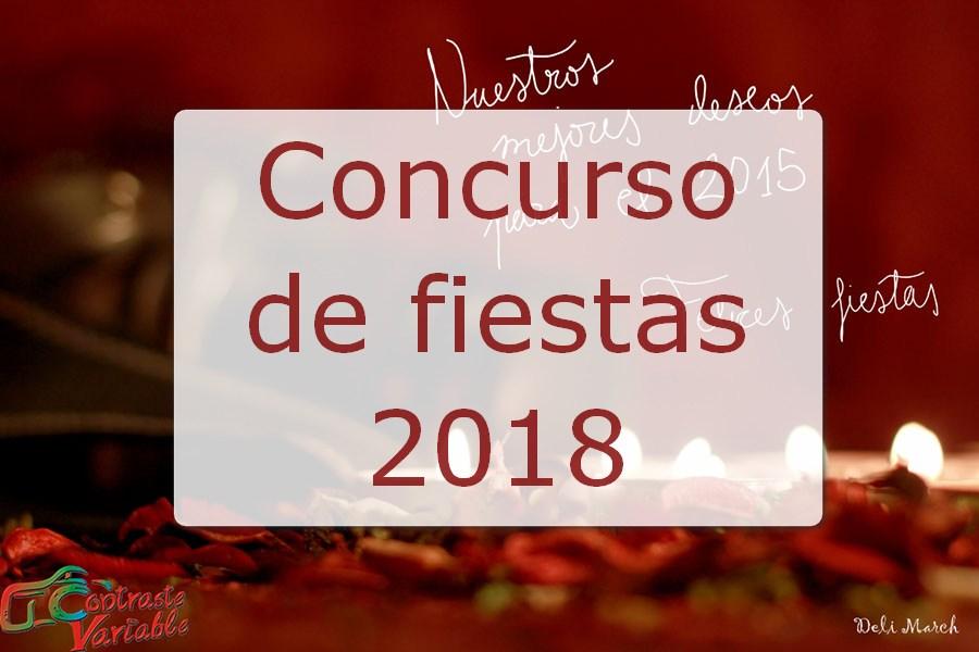 concurso fiestas 2018