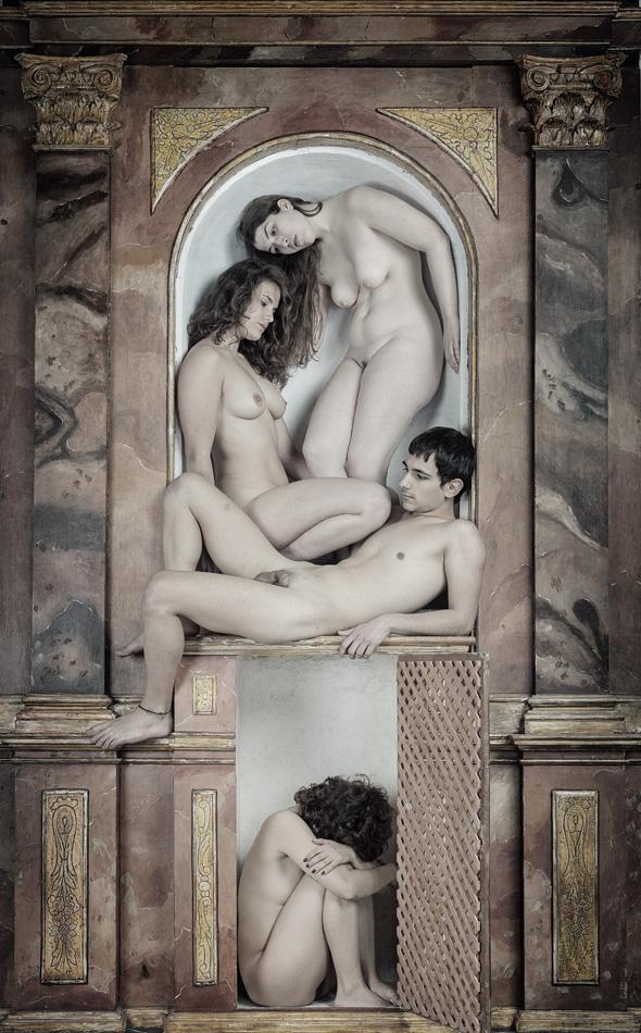 imagen de el jardín de las delicias de antonio morales