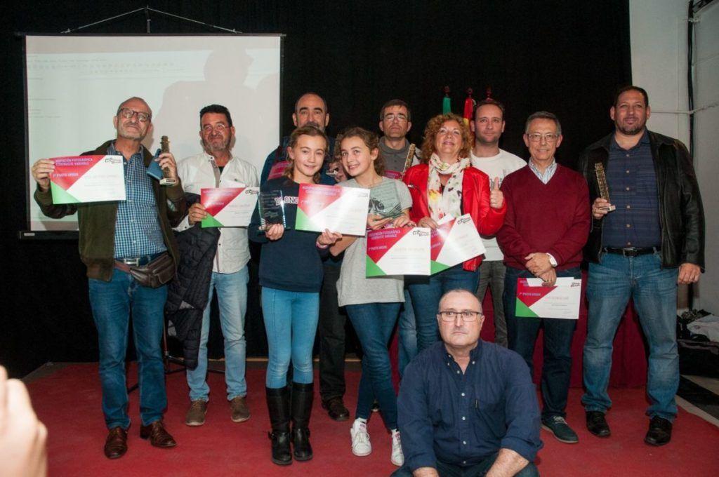 foto de grupo entrega de premios 7º photourban