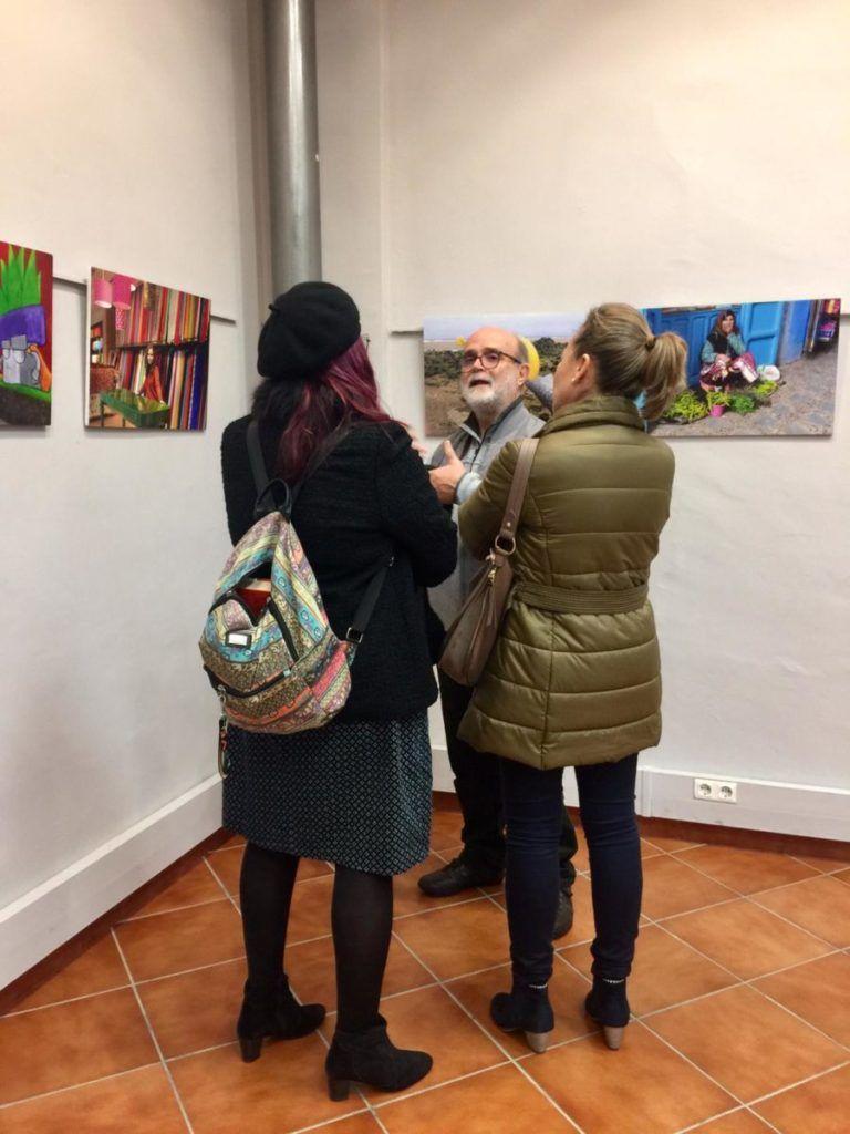 presentación de exposición colores en Almensilla