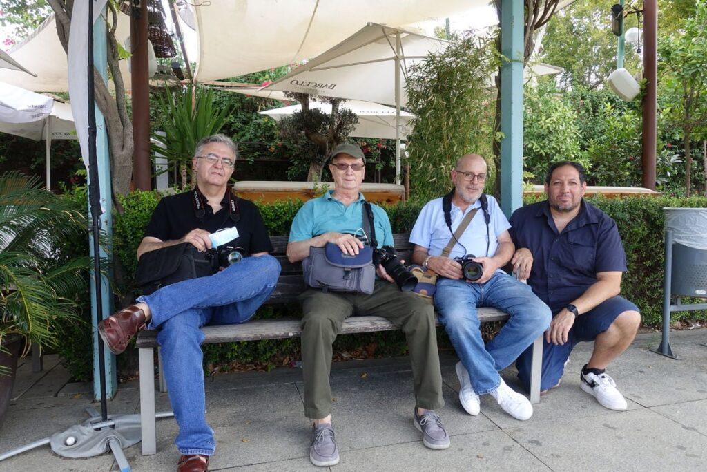 grupo de fotógrafos en el 9 photourban