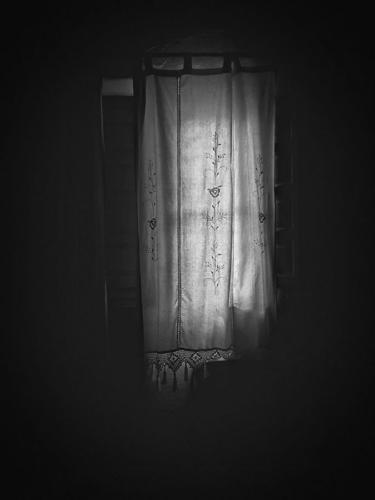 Blanco-y-negro-2020_José A. Gómez Mateo-Tras el visillo