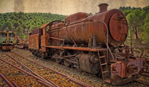 Trenes - Gómez Mateo José A-Ferrocarril minero de Ríotinto 1
