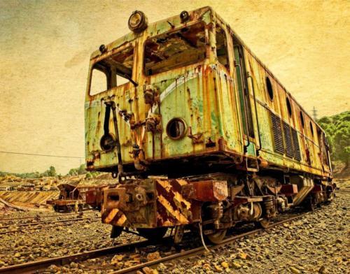 Trenes - Gómez Mateo José A-Ferrocarril minero de Ríotinto 4